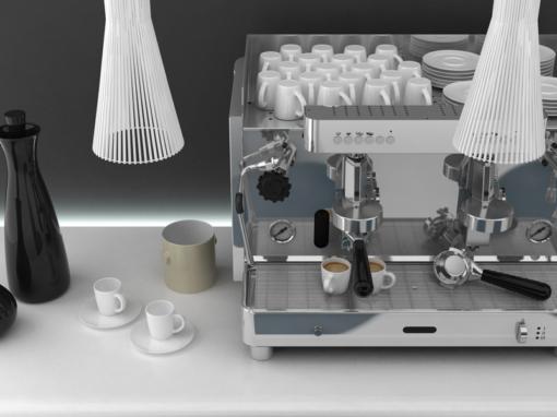 Renderizzazione macchina da caffè