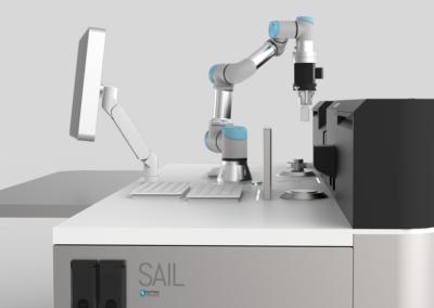 Postazione Visual Inspection & Leak Detection da laboratorio