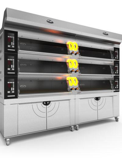Proposta di stile nuovo forno modulare