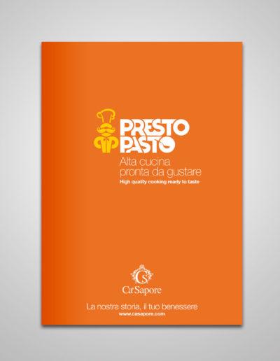 Copertina catalogo prodotti PrestoPasto