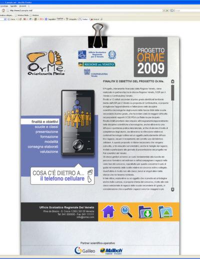 Dettaglio sezione concorso Mobile