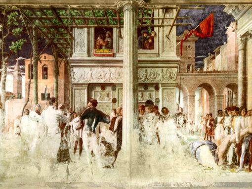 Ricostruzione affreschi Cappella Ovetari