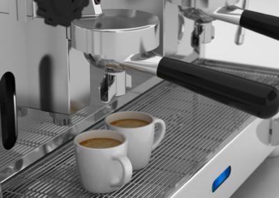 Rendering Macchina da Caffè