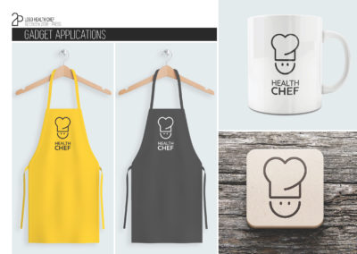 HEALTHCHEF LOGO ACCESSORIES MOCKUP