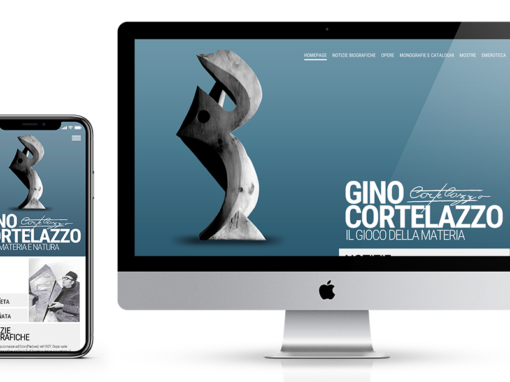 Gino Cortelazzo Website Design